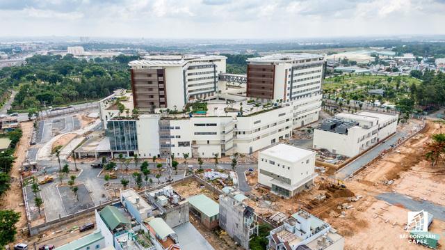 dji0238 1563844057351455298415 - Cận cảnh dự án bệnh viện gần 6.000 tỷ đồng tại TP.HCM sắp đi vào hoạt động vào cuối năm 2019
