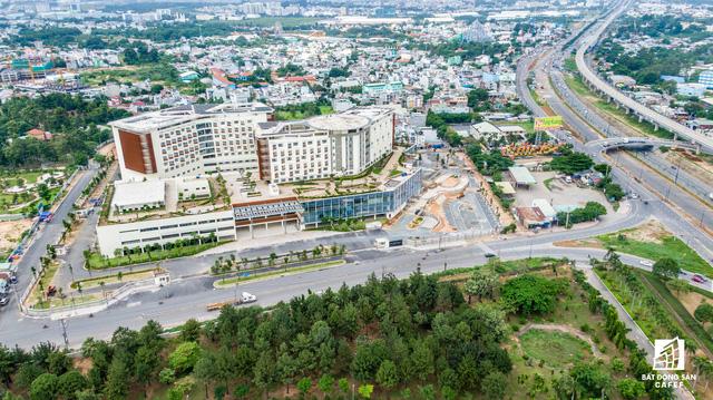 dji0248 1563844085086815468796 - Cận cảnh dự án bệnh viện gần 6.000 tỷ đồng tại TP.HCM sắp đi vào hoạt động vào cuối năm 2019