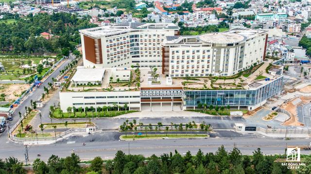 dji0249 1563844110905995374089 - Cận cảnh dự án bệnh viện gần 6.000 tỷ đồng tại TP.HCM sắp đi vào hoạt động vào cuối năm 2019