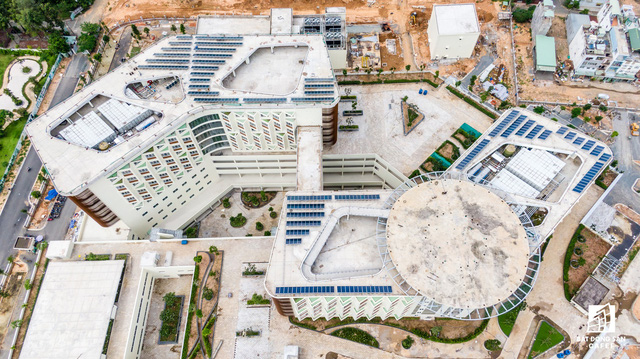 dji0277 15638443446381650433713 - Cận cảnh dự án bệnh viện gần 6.000 tỷ đồng tại TP.HCM sắp đi vào hoạt động vào cuối năm 2019