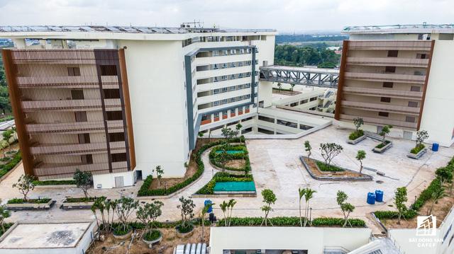 dji0278 1563844375441579184947 - Cận cảnh dự án bệnh viện gần 6.000 tỷ đồng tại TP.HCM sắp đi vào hoạt động vào cuối năm 2019