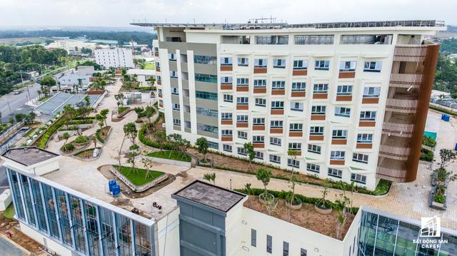 dji0280 1563844417224551317050 - Cận cảnh dự án bệnh viện gần 6.000 tỷ đồng tại TP.HCM sắp đi vào hoạt động vào cuối năm 2019