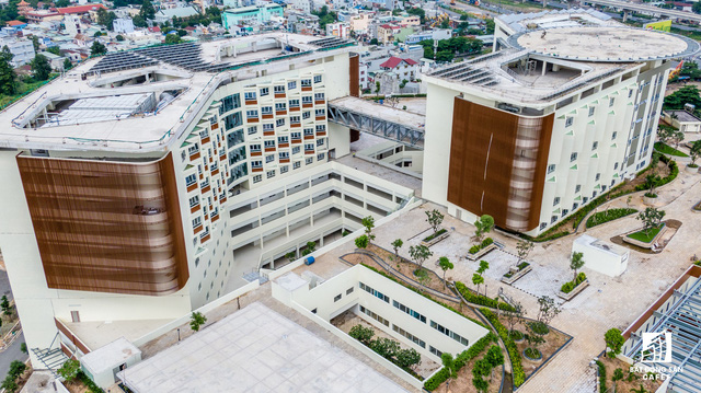 dji0287 15638445218061175366558 - Cận cảnh dự án bệnh viện gần 6.000 tỷ đồng tại TP.HCM sắp đi vào hoạt động vào cuối năm 2019