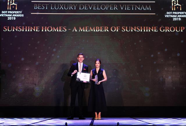 Sunshine Group chiến thắng vang dội với 5 giải thưởng danh giá tại Dot Property Awards 2019 - Ảnh 1.