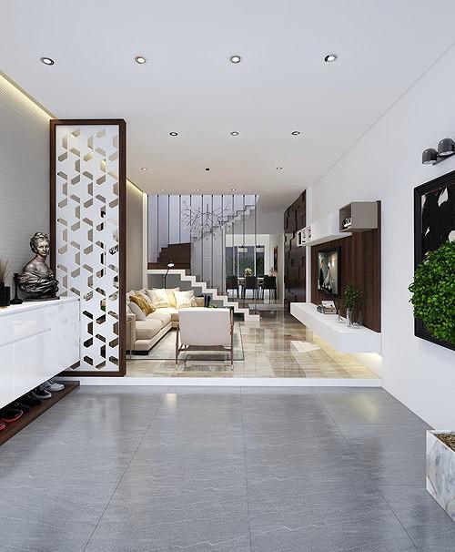 photo 1 15642763953611058069122 - Nhà phố 56 m2 thiết kế đẹp như biệt thư hạng sang