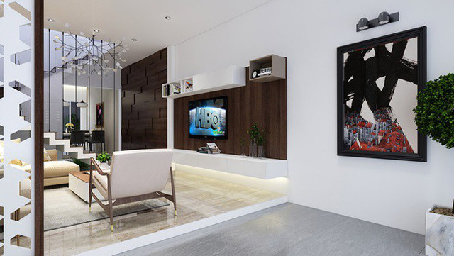Nhà phố 56 m2 thiết kế đẹp như biệt thư hạng sang - Ảnh 4.