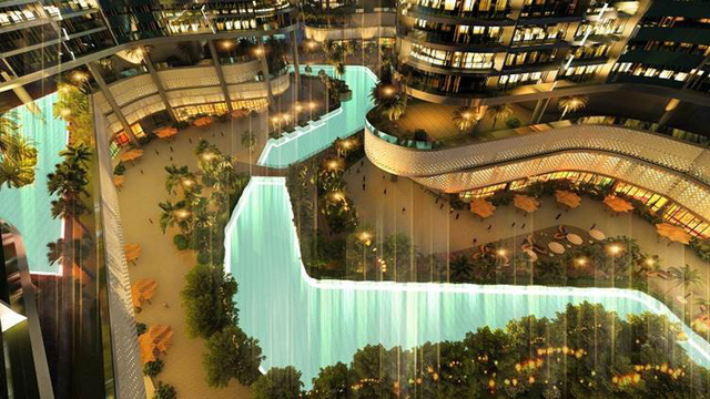 """image003 15652535404891621310538 - Kiến trúc hiện đại và câu chuyện về """"Viên kim cương"""" bên sông Sài Gòn"""
