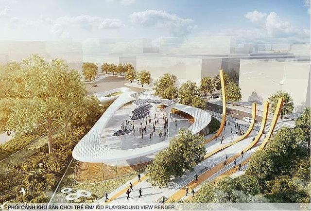 photo 1 156492851521855525872 - Hình hài Công viên 23-9 qua hai thiết kế đoạt giải