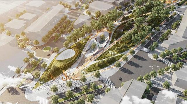 photo 2 15649285152201275363606 - Hình hài Công viên 23-9 qua hai thiết kế đoạt giải