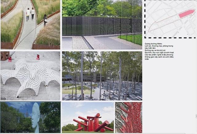 photo 4 15649285152231329186085 - Hình hài Công viên 23-9 qua hai thiết kế đoạt giải