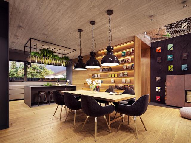 photo 1 15676507339681161062840 - Tham khảo cách thiết kế phòng ăn đơn giản, mộc mạc và tinh tế