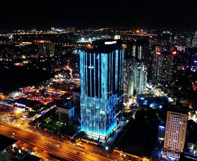 photo 1 15681881244241324426100 - Sunshine Homes thay đổi diện mạo đô thị Hà Nội bằng công nghệ ánh sáng.