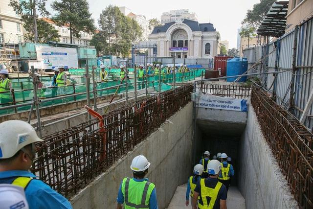 photo 1 15685332042831208482598 - Diện mạo đường hầm Metro số 1 xuyên lòng đất tại trung tâm TP HCM