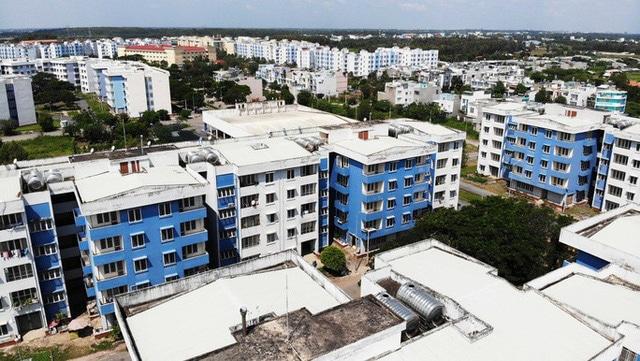"""photo 11 15684349542401707400085 - Khu tái định cư ngàn tỉ ở Bình Chánh giống như đô thị """"ma"""""""