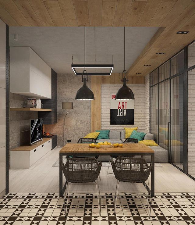 photo 2 15676507369211696865915 - Tham khảo cách thiết kế phòng ăn đơn giản, mộc mạc và tinh tế