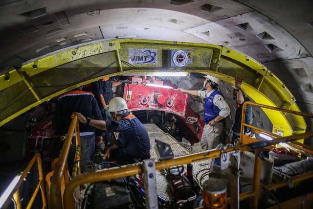 photo 2 1568533206958760421729 - Diện mạo đường hầm Metro số 1 xuyên lòng đất tại trung tâm TP HCM