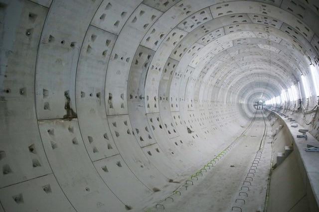 photo 4 1568533206961928394558 - Diện mạo đường hầm Metro số 1 xuyên lòng đất tại trung tâm TP HCM