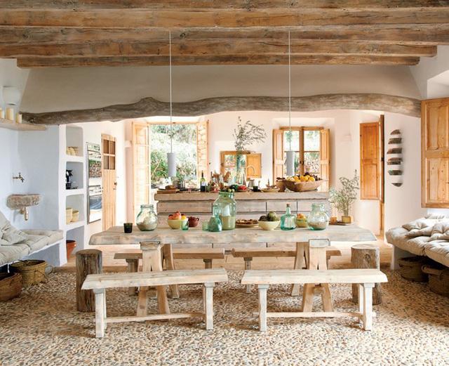 photo 5 15676507369251319307537 - Tham khảo cách thiết kế phòng ăn đơn giản, mộc mạc và tinh tế