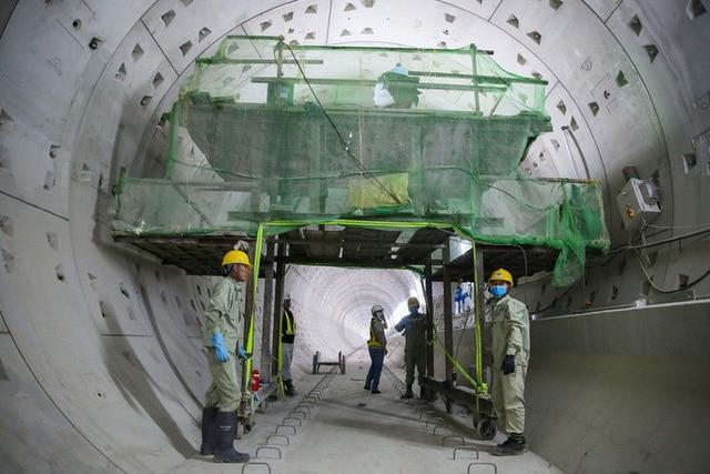 photo 5 1568533206963699008337 - Diện mạo đường hầm Metro số 1 xuyên lòng đất tại trung tâm TP HCM