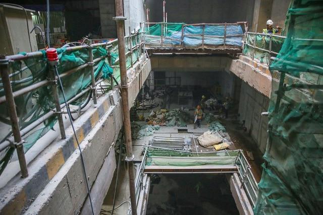 photo 6 15685332069661776537708 - Diện mạo đường hầm Metro số 1 xuyên lòng đất tại trung tâm TP HCM