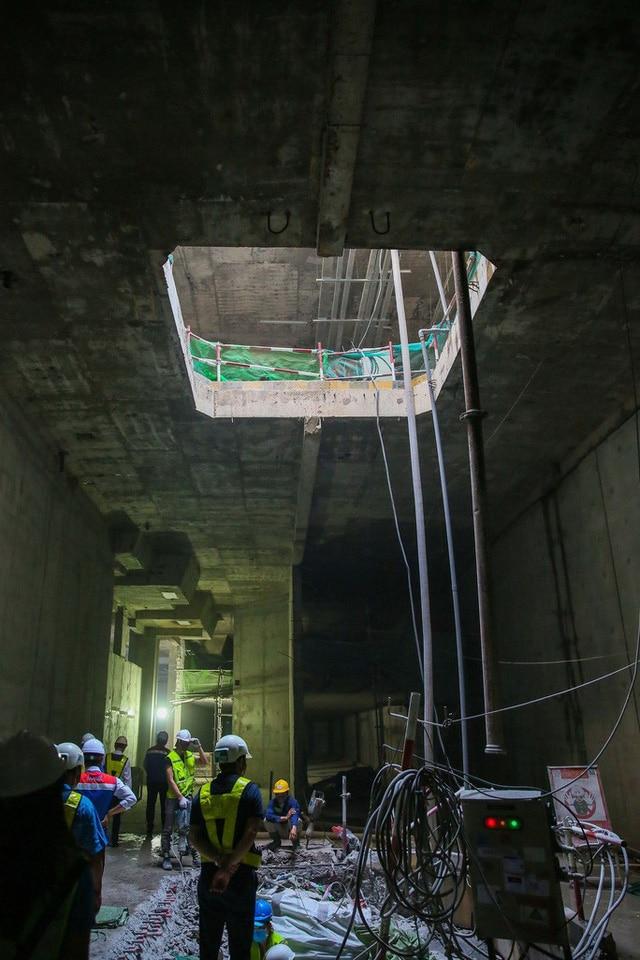 photo 7 15685332069671590991903 - Diện mạo đường hầm Metro số 1 xuyên lòng đất tại trung tâm TP HCM