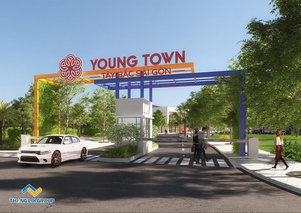 young town tay bac sai gon cong chao - YOUNG TOWN TÂY BẮC SÀI GÒN