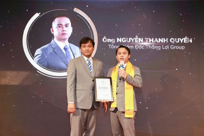 Ông Nguyễn Thanh Quyền đảm nhiệm vị trí Tổng Giám Đốc Thắng Lợi Group kể từ ngày 1/10/2020