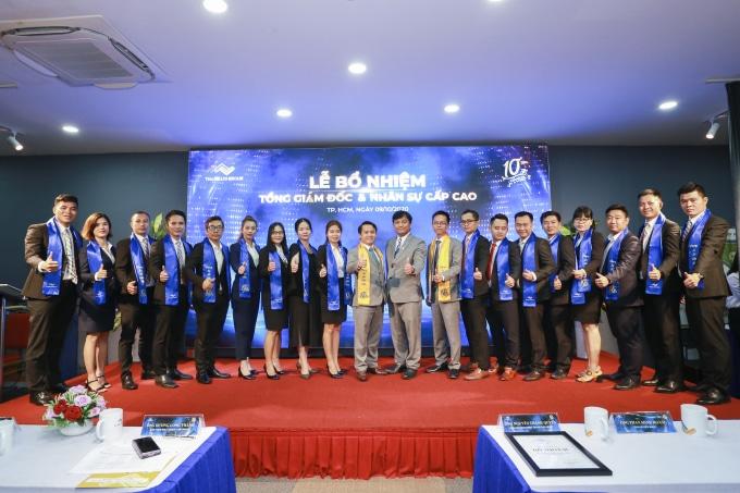 Ban Lãnh đạo, Cán bộ cấp cao mới được bổ nhiệm của Thắng Lợi Group