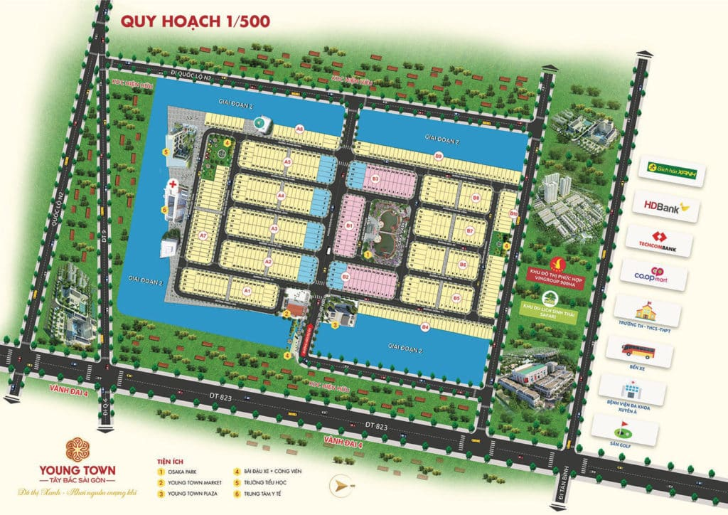 mat bang phan lo du an young town 1024x724 1 - #1 YOUNG TOWN TÂY BẮC SÀI GÒN