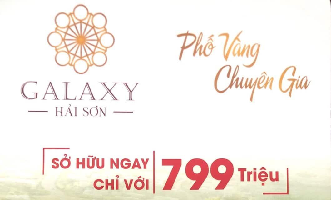 pho vang chuyen gia - #1 DỰ ÁN GALAXY HẢI SƠN ĐỨC HÒA – PHỐ VÀNG CHUYÊN GIA
