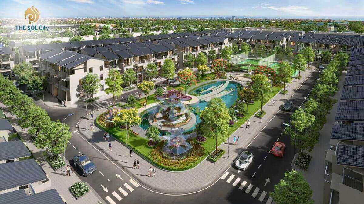 dự án bất động sản the sol city