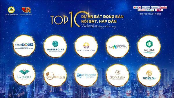 THE SOL CITY TOP 10 DỰ ÁN BẤT ĐỘNG SẢN NỔI BẬT HẤP DẪN